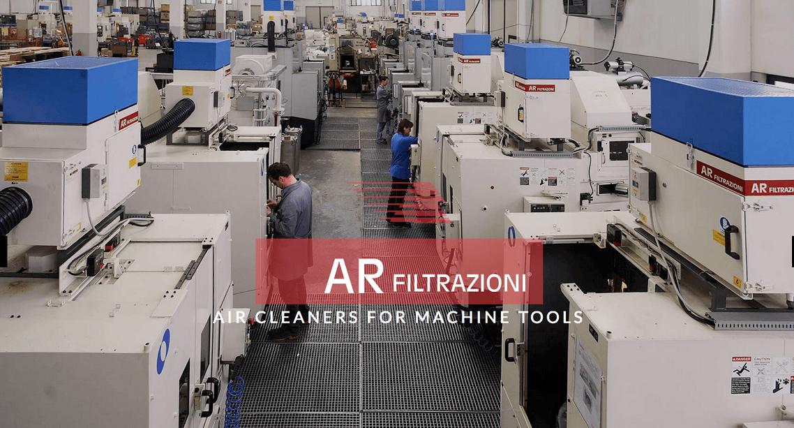 Depuratori d'aria per macchine utensili AR filtrazioni