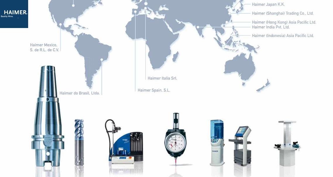 Macchine a calettare, bilanciatrici e attrezzature Haimer